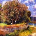 Chestnut Tree Blooming 1881 by Renoir PierreAuguste