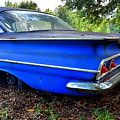 Chevrolet Bel Air Back Side 2 by Lisa Wooten