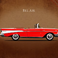 Chevrolet Bel Air Convertible 1957 by Mark Rogan