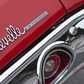 Chevrolet Chevelle Ss Taillight Emblem 2 by Jill Reger