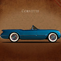 Chevrolet Corvette 1954 by Mark Rogan