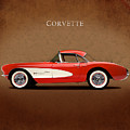 Chevrolet Corvette 1957 by Mark Rogan