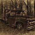 Chevrolet Flatbed Sepia by Dale Kauzlaric