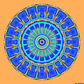 Chevrons Mandala by Joy McKenzie