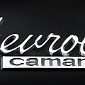 Chevy Camaro Emblem by Athena Mckinzie