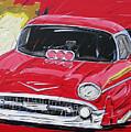 Chevy Drag by Roberto Muccilo