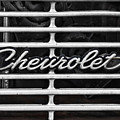 Chevy Grill by Sharon Popek