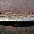 Chevy Power Glide Trunk Emblem by Kevin McCarthy