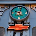 Chevy Times Square Clock by Rob Hans