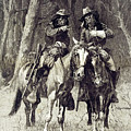 Cheyenne Scouts Patrolling The Big Timber Of The North Canadian, by Frederic Sackrider Remington