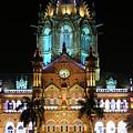 Chhatrapati Shivaji Terminus Formerly Victoria Terminus In Mumbai-3 by Milind Ketkar