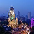 Chhatrapati Shivaji Terminus V.t. And Municipality Head Office In Mumbai. by Milind Ketkar