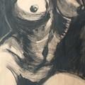 Chiaroscuro Torso - Female Nude by Carmen Tyrrell