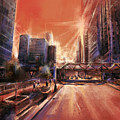 Chicaco Street 3 by Bekim M