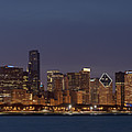 Chicago After Dusk by Sandra Bronstein
