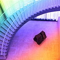 Chicago Art Institute Staircase Pa Prismatic by Thomas Woolworth