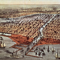 Chicago As It Was by Currier and Ives