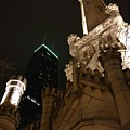 Chicago At Night by Josh Coleman