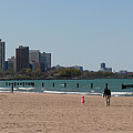Chicago Beach Panorama by Gregory Jeffries