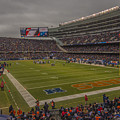 Chicago Bears Soldier Field 7848 by David Haskett II