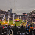 Chicago Bears Soldier Field National Anthem 7745 by David Haskett II