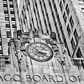 Chicago Board Of Trade Bw by Jerry Fornarotto
