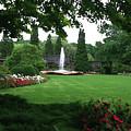 Chicago Botanical Gardens Landscape by Steve Karol
