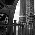 Chicago Bridge And Buildings by Dmitriy Margolin