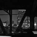 Chicago Bridge Night by Kyle Hanson
