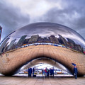 Chicago Cloud Gate by Tammy Wetzel