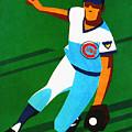 Chicago Cubs 1972 Official Program by John Farr