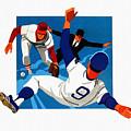 Chicago Cubs 1974 Program by John Farr