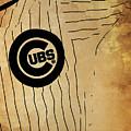 Chicago Cubs Baseball Team Vintage Card by Drawspots Illustrations