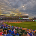 Chicago Cubs Wrigley Field 6 8252 by David Haskett II