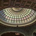 Chicago Cultural Center Tiffany Dome 01 by Thomas Woolworth