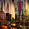 Chicago Draws The Curtain by Ron Fleishman