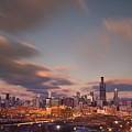 Chicago Dusk by Steve Gadomski