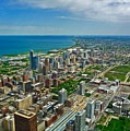 Chicago East View by Ginger Wakem
