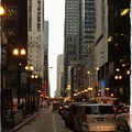 Chicago Evening by Kathleen Henry