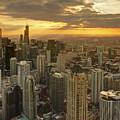 Chicago Evenings 2 by Ajit Pillai
