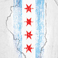 Chicago Flag by Roly O