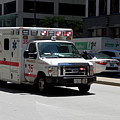 Chicago Fire Department Ems Ambulance 35 by Thomas Woolworth