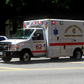 Chicago Fire Department Ems Ambulance 62 by Thomas Woolworth