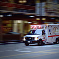 Chicago Fire Department Ems Ambulance 74 by Thomas Woolworth