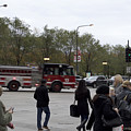Chicago Fire Department Truck 13 by Thomas Woolworth