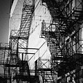 Chicago Fire Escapes 2 by Kyle Hanson