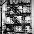 Chicago Fire Escapes 3 by Kyle Hanson