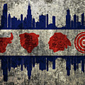 Chicago Grunge Flag by Dan Sproul