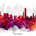Chicago Illinois Cityscape 14 by Aged Pixel