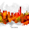 Chicago Illinois Cityscape 15 by Aged Pixel